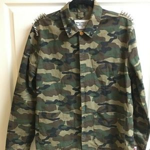 Bellfield Expedition Camo Jacket Men's Medium